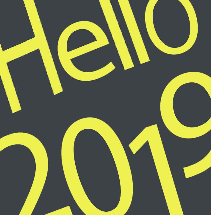 hello happy 2019