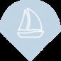 picto bateau bleu